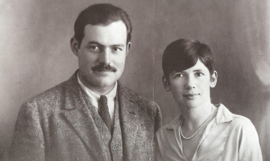 Pauline and Ernest on their wedding day