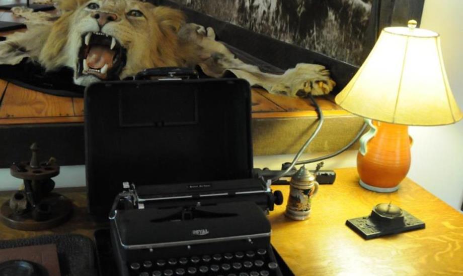 Inside Hemingway's Piggott Studio