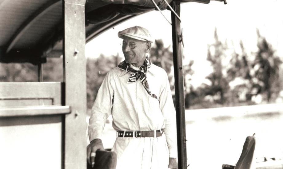 Gus Pfeiffer Aboard the Pilar